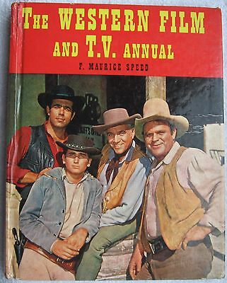 Western Film and TV Annual 1962 FREE POSTAGE Gary Cooper,Rawhide, Cowboys.
