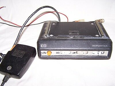 Pye Reporter 6 Channel Radiotransceiver With Wired Mic, Old, Collector, Ham Buff