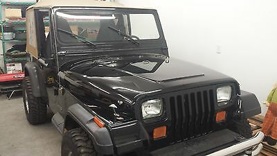 1990 Jeep Wrangler  1990 Back Jeep Wrangler YJ Fuel Injected