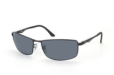 Ray-Ban RB3498 006/81 Black Frame Polarized Grey Gradient 64mm Lens Sunglasses