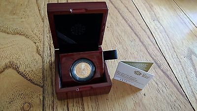 1/4 oz Gold Proof Queens Beast Lion Royal Mint 9999 Rare Collectable Gold Coin