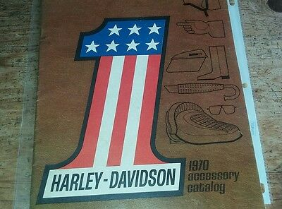 1970 Harley Davidson Accessory Catalog-32 Pages
