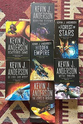 The Saga of Seven Suns series by Kevin J. Anderson
