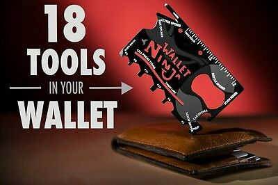 ninja wallet 18 tools in 1 Multitool Buy One Get One Free