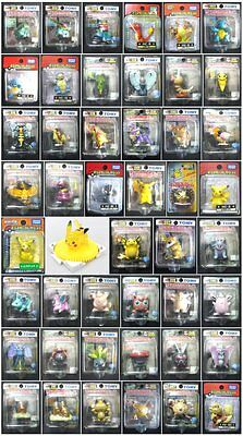 Pokemon Figure Toys 1st Generation #001-#059 Tomy Monster Collection Unused