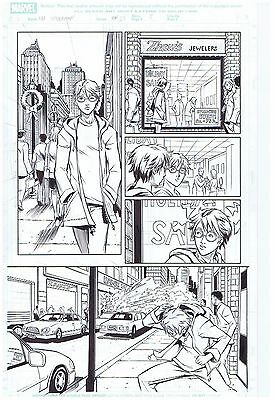 Spider-Man Original Published Comic Art Page Pop Mhan And Norman Lee Art