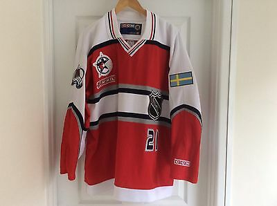 Peter Forsberg 2000 NHL All Star CCM Jersey XL Avalanche