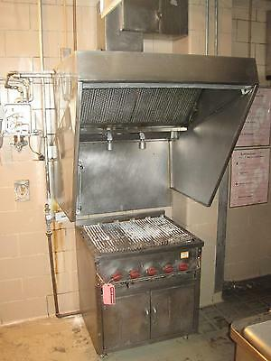 Wolf Range Stainless Steel 5 Burner Natural Gas Char Broiler Grill Commercial