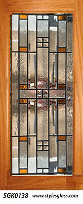 Stained Glass cabinet Door  inserts for new & existing Kitchens WOW