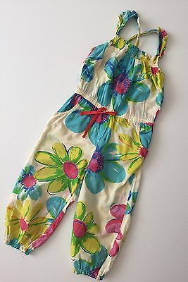 Next Floral Summer Jumpsuit Age 3-4 Years