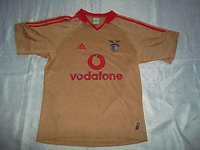 Benfica Football Shirt 2005-2006 Small Men's Authentic Adidas