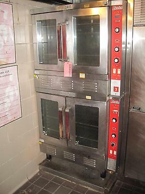 Vulcan Snorkel Double Stack Oven Gas Convection Full Size Dual Commercial B