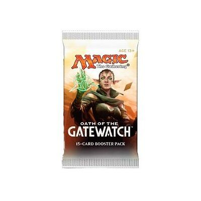 Magic The Gathering Oath of the Gatewatch Sealed Booster Pack x 7