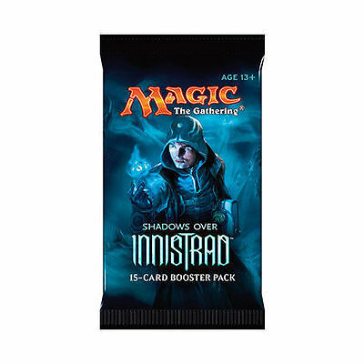 Magic the Gathering Shadows over Innistrad Sealed Booster Pack x 4