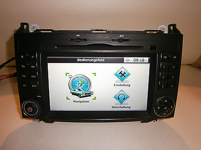 Gps Mercedes A/b/vito/viano/sprinter Navigation Sd Ipad Usb Bluetooth Ntg Style