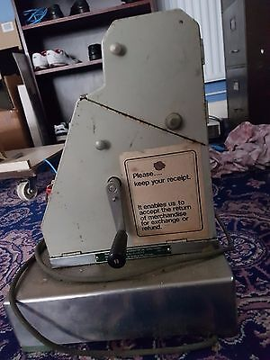Original 1/2 Penny Cash Register (Over 50 Years old). Requires Testing & Service