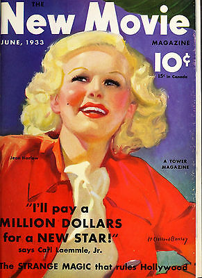 39 Vintage THE NEW MOVIE Magazines 1932~1935 Golden Age Hollywood {pdf DVD} #2