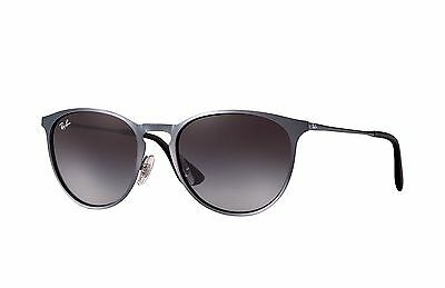 Ray-Ban RB3539 Erika Metal 192/8G Grey Frame/Grey Gradient Lens 54mm