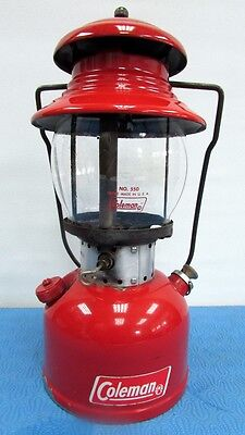 Great Coleman Red Lantern Model 200 T-66 Tank November 1965 Canada Usa Globe 550