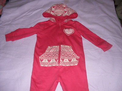 Baby Girls One Piece Suit / Sleepsuit / Pyjamas  Age 12-18 Months From F+F -Used