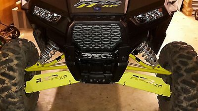 Polaris Rzr S Rzrs 900 Front And Rear A-Arm Guards In Lime Squeeze