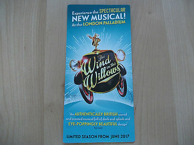 **The Wind of the Willows Flyer at London Palladium**