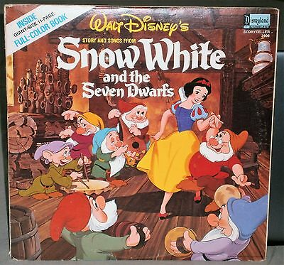 Walt Disney's Story And Songs From Snow White And The Seven Dwarfs 3906 Disney