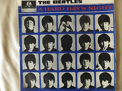' A HARD DAYS NIGHT' by THE BEATLES. AUSTRALIAN PRESSING MONO. PARLOPHONE LABEL.