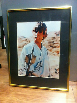 Autograph star wars  Mark Hamill