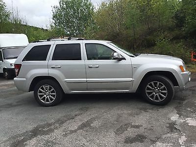 2007 Jeep Grand Cherokee  Overland Crd A Silver