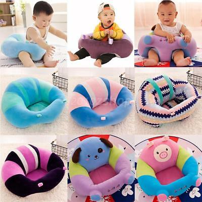 Infant Baby Support Seat sit up Soft Chair Cushion Sofa Plush Pillow Toy
