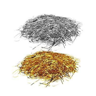 1 Pack Metallic Shred Stuffing for Gift Box Stuffing Filler Wedding Party Decor