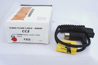 Quantum Ccz Turbo Flash Cable Short Canon