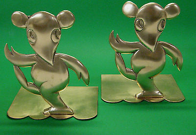Deco Karl Hagenauer Figural  Bookends