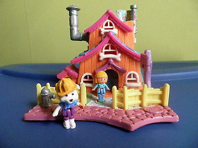 Mini Polly Pocket Maison  Polly 1994 Vintage  Bluebird  Polly Tbe !!
