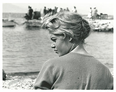 Photo Argentique 20x25 Brigitte Bardot