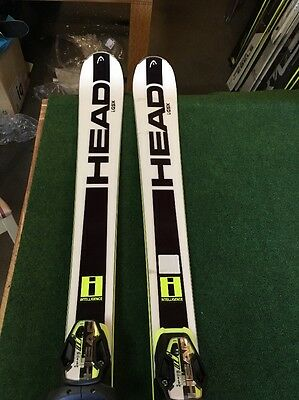 HEAD WORLDCUP REBELS I.GSX SKIS AND BINDINGS SIZE 170cm