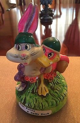 BUGS BUNNY Daffy Duck MUSIC BOX LOONEY TUNES Holiday Fair Japan 1971 Vintage