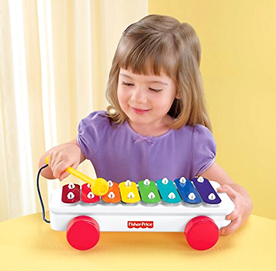 Classic Xylophone Play Fisher-Price Brilliant Basics New Toy for Kids Baby