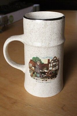 Large Royal Worcester Tankard/Mug/Cup