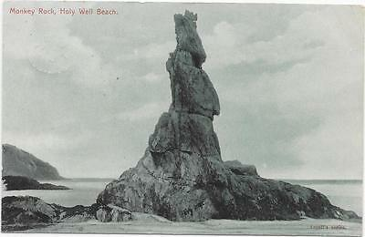 899 Pc  Monkey Rock Holy Well Beach Posted 1907