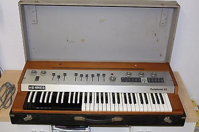 Hohner Symphonic 65 Orgel Synthesizer Vintage Selten
