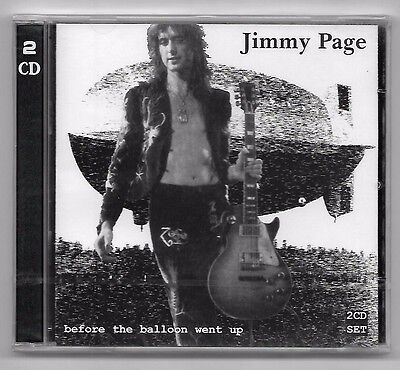 Double Cd / Jimmy Page - Before The Balloon Went Up / Annee 1998 Neuf Sous Cello