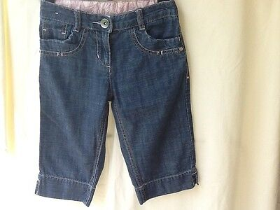 Girls Next Cropped Jeans 6yrs