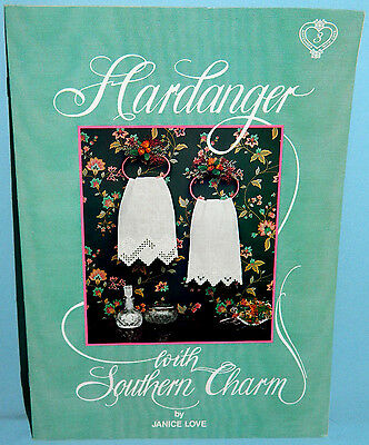 Love 'N Stitches Hardanger with Southern Charm Embroidery Pattern Book #3 Border