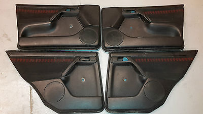 Vw Golf Mk3 / Vento 5Dr Gti Limited Edition Recaro Red Black Door Cards Only