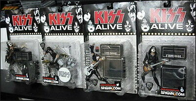 "Kiss action figures ""Alive"" Mc.Farlane"