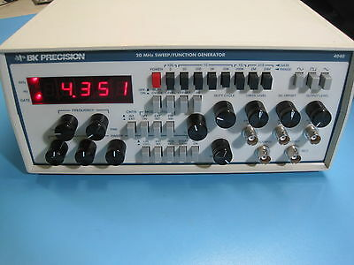 BK Precision 4040 0.2-20 MHz Sweep/Function Generator