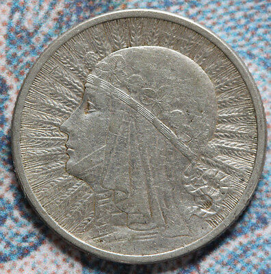 Poland 1933 - 2 ZLOTE, Eagle 22mm -Foreign coin