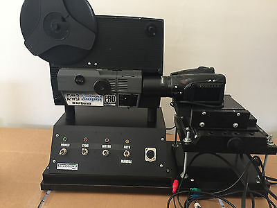 8mm Sniper Pro HD Movie Scanner by Moviestuff USED With Camera